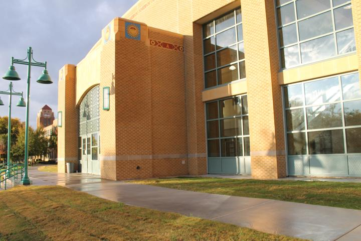 Exterior of new building