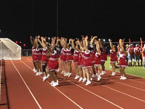 Cheer team preps for busy season