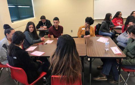 Friends Friendly Visit to AP Spanish