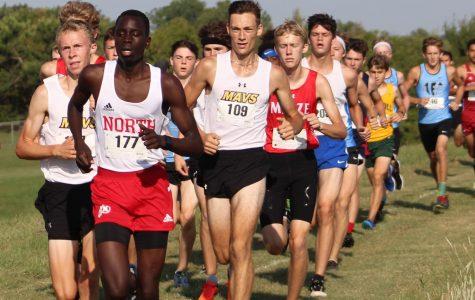 Michael Iyali Runs to the Finish