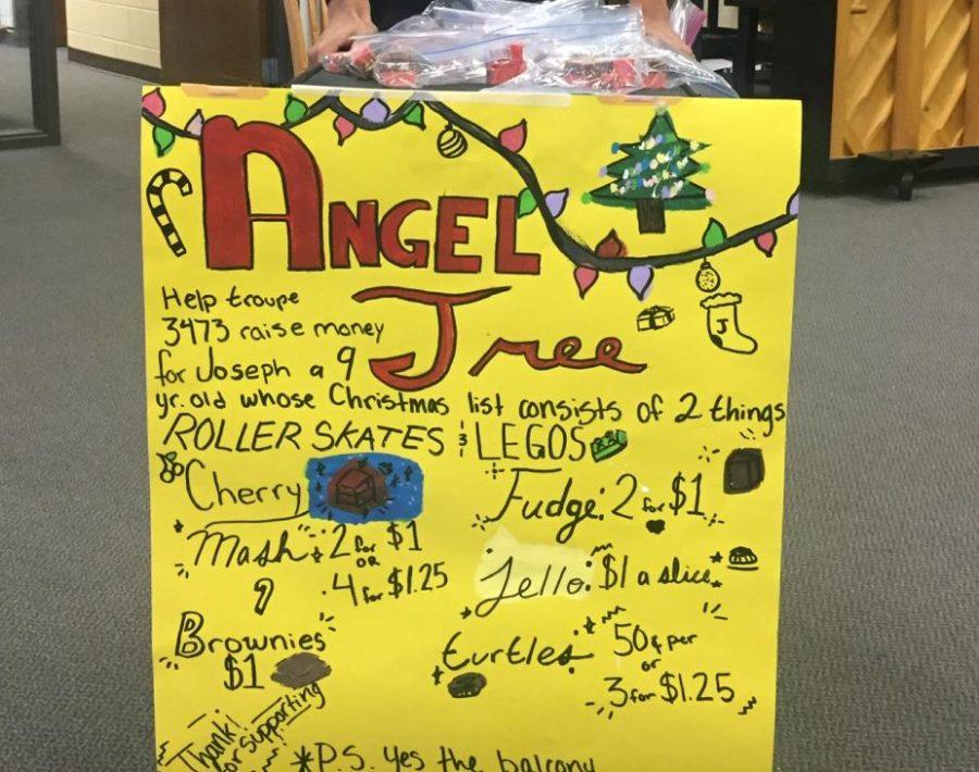 Repertory theatre's angel tree