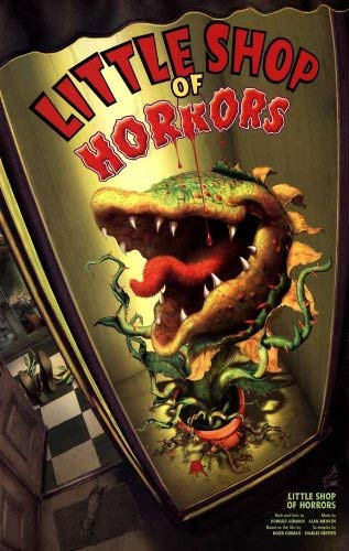 Little+Shop+of+Horrors+Broadway+poster