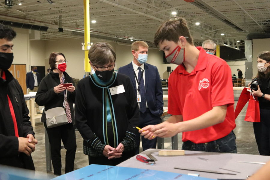 Governor Kelly visits North High